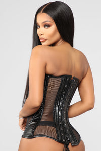 Aint Thinking About You Corset - Black