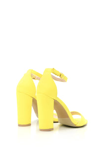 Go With Everything Heels - Yellow