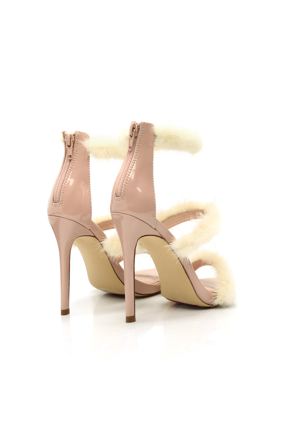 Soft To The Touch Heels - Nude