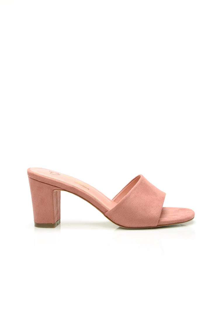 So Cute Heeled Sandal - Mauve