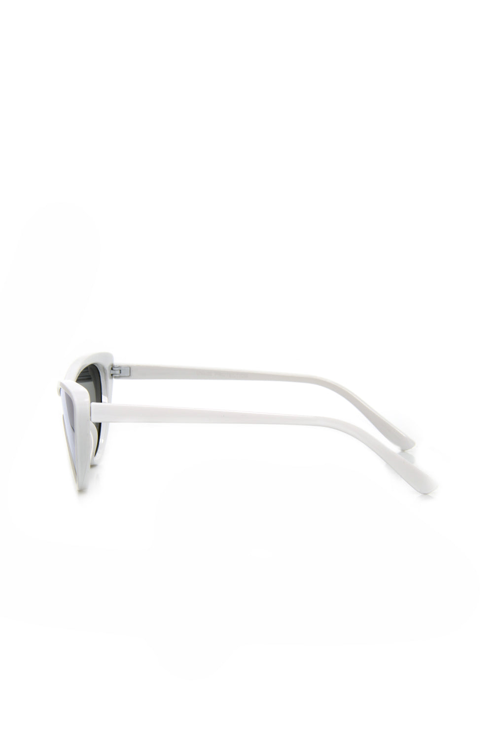 Monroe Cat Eye Sunglasses - White/Combo