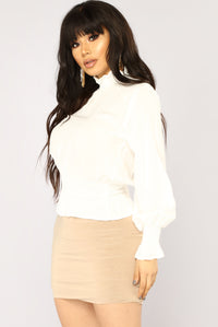 Lady Love Top - White