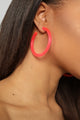Glow All Night Earrings - Pink