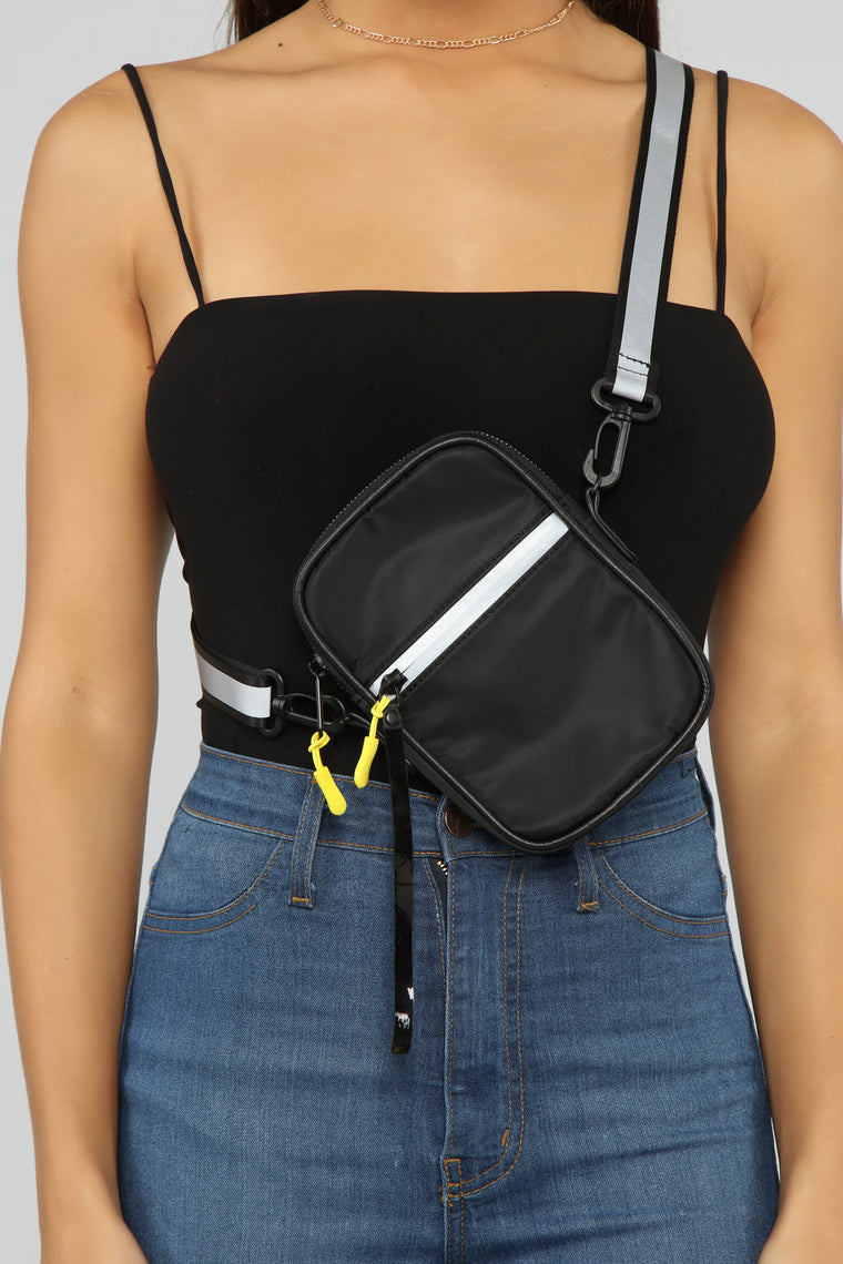 Take Me For A Ride Crossbody - Black