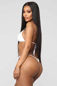 What A Beach Tiny Bikini Set - White