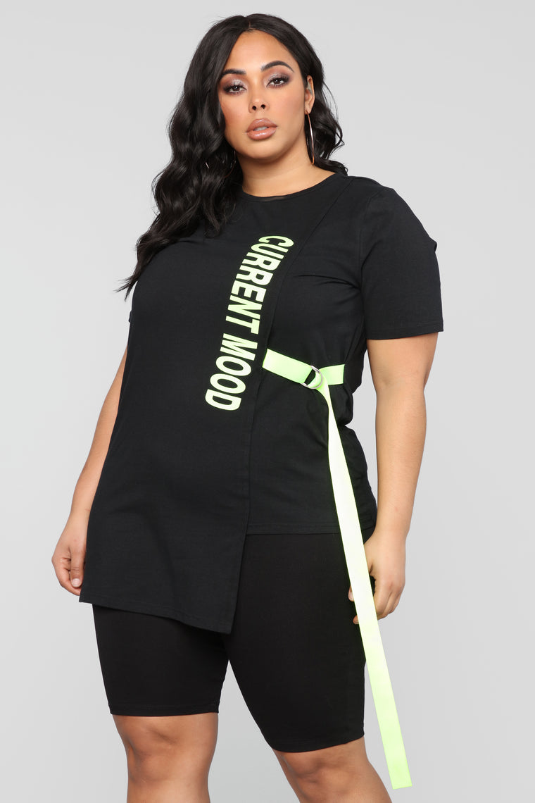 Living In The Moment Top - Black