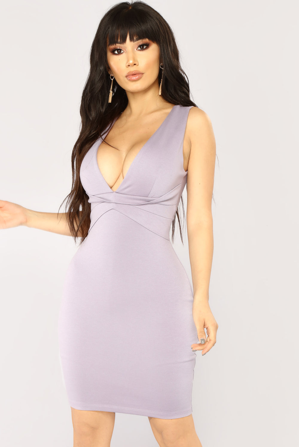 Loving Feeling Mini Dress - Lavender