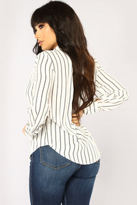 Lasting Love Long Sleeve Top - Off White