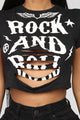 Groupie Rock Tee - Black