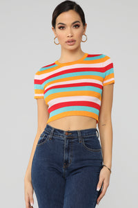So Many Ways Top - Multi Color