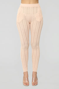 Knit Temptation Sweater Set - Peach