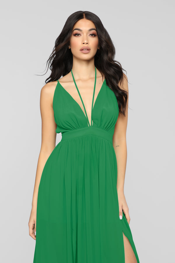 a15b074ad7 Last Breath Maxi Dress - Kelly Green. Notify Me When Available