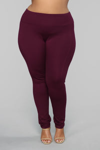 All Tucked In Legging - Purple Angle 3