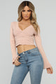 All About The Detail Top - Rose