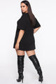 I Need Bags Mini Dress - Black