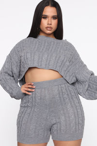 Figueroa Set - Heather Grey