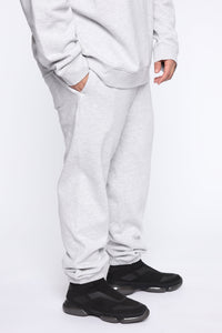 Miguel Jogger - Heather Grey Angle 7