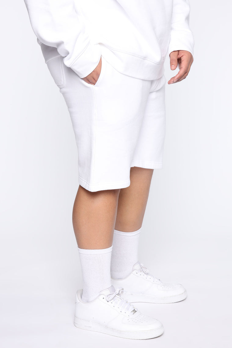 Miguel Active Short - White