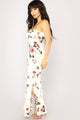 Lizzy Floral Dress - White Floral