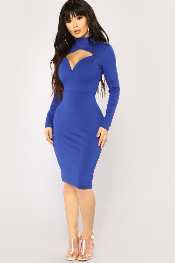 e0304c406e Davi Cutout Dress - Royal