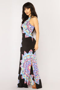 Redondo Beach Maxi Dress - Black