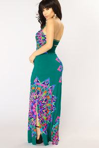 Redondo Beach Maxi Dress - Jade
