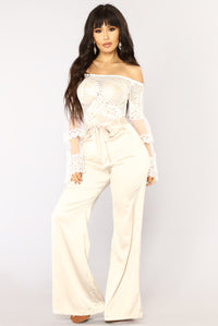 Beat Of My Heart Bodysuit - White Angle 2