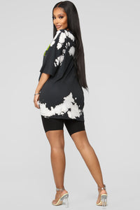 All The Reasons Tunic Top - Black/Combo