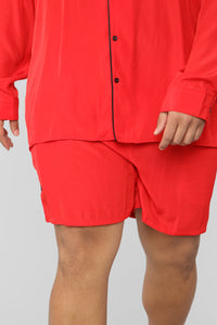 Classic Stan Short -Red/Black Angle 7