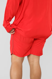 Classic Stan Short -Red/Black Angle 12