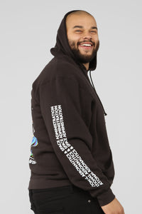 Out Of This World Hoodie - Black/Combo