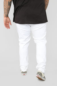 Terrence Skinny Jean - White Angle 13