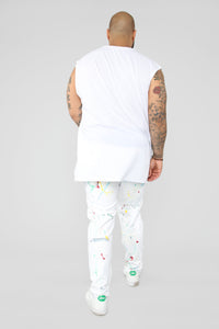 Howard Skinny Jean - White