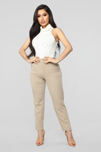 Hold Me Close Bodysuit - Ivory
