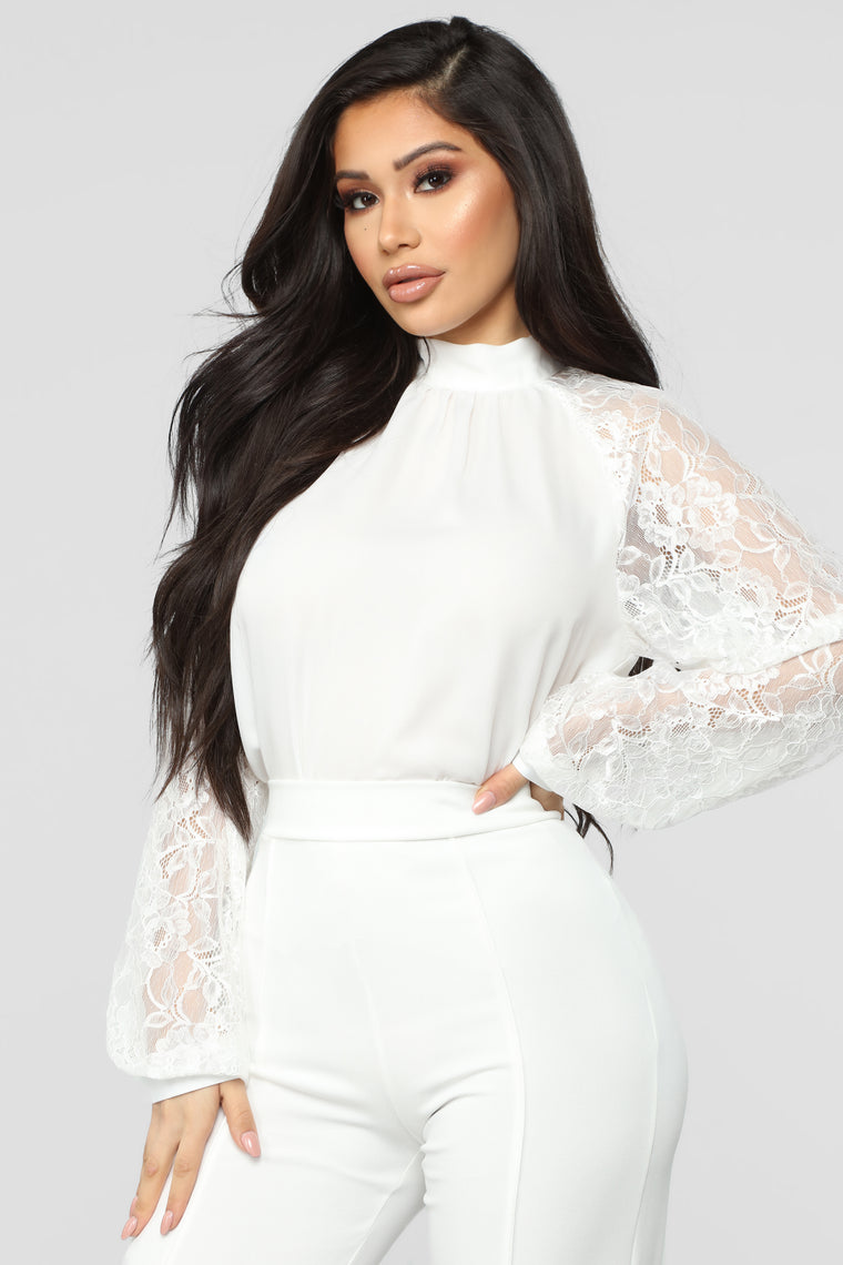 Finders Keepers Top - Ivory