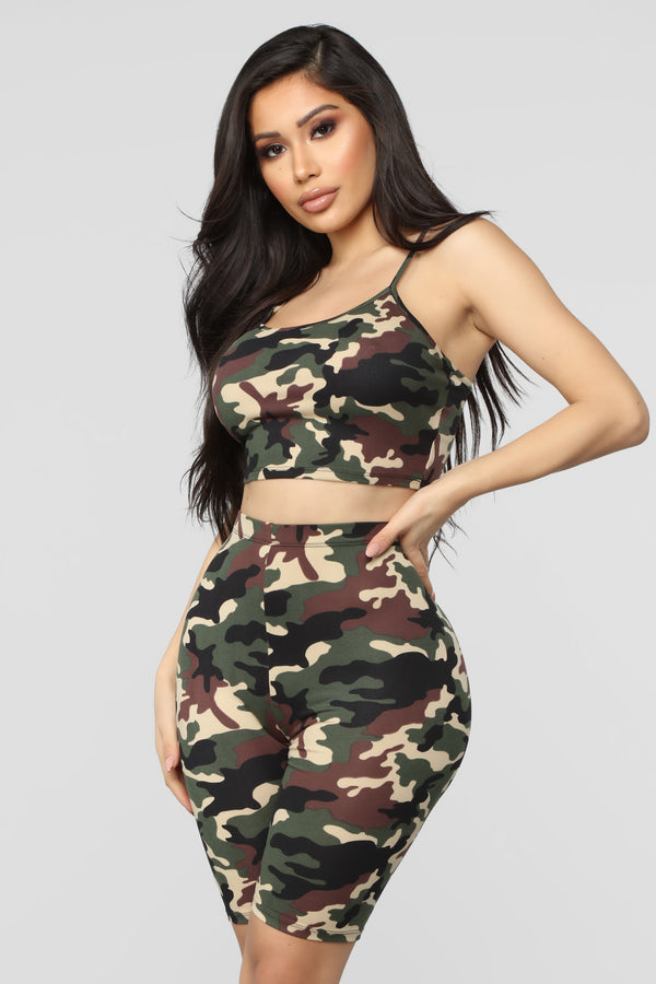 08a1077107563 On Command Camo Set - Olive