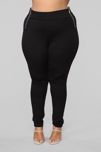 Oh So Kate Pants - Black Angle 8