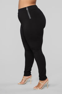 Oh So Kate Pants - Black Angle 10