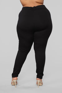 Oh So Kate Pants - Black Angle 12
