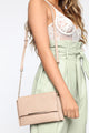 Catch Up Handbag - Nude