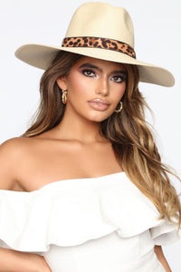 Wildin' In The Sun Hat - Ivory Angle 1
