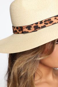 Wildin' In The Sun Hat - Ivory Angle 2
