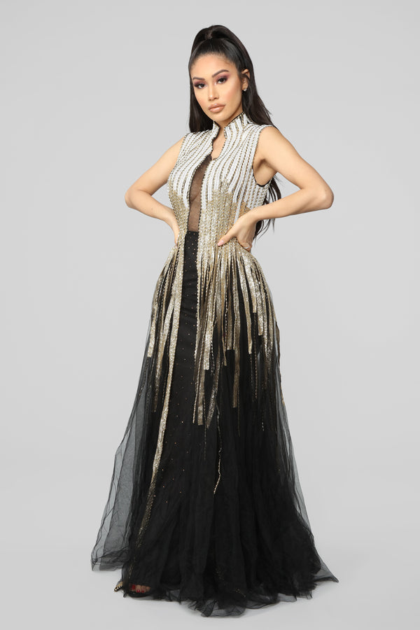 7761b7ad00a A Lovely Night Dress - Black Gold