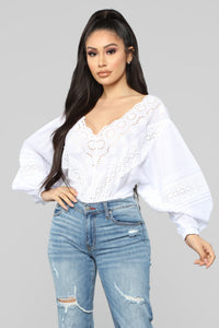 Stage Coach Ready Top - White