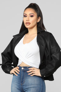 Playing It Cool Jacket - Black