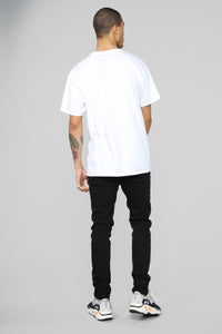 Poppy Short Sleeve Tee - White