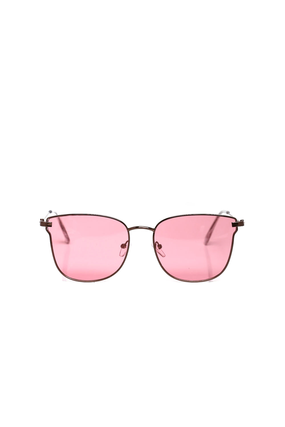 Panama City Sunglasses - Dark Gold/Pink