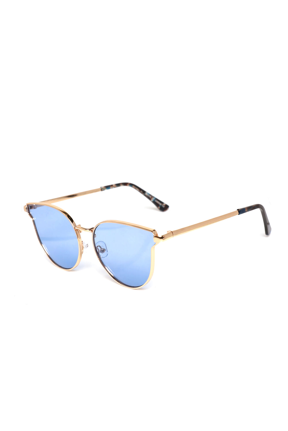 Sunrise Beach Sunglasses - Gold/Blue