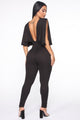About To Go Jumpsuit - Black