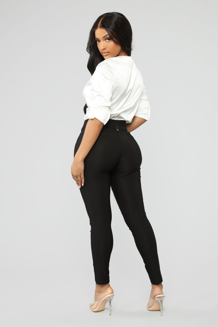 Workin Me Pants - Black